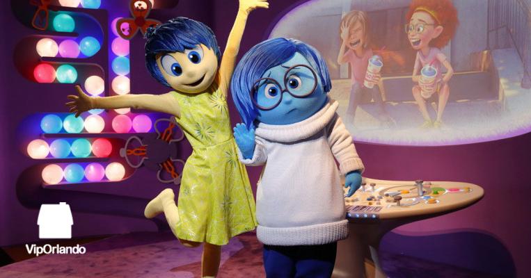 Los personajes de Intensamente llegan a Disney World  Blog VipOrlando